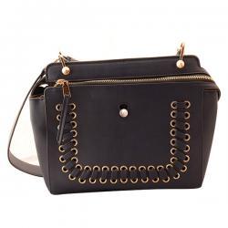Black Fashionable Sidebag For Ladies - (TP-379)
