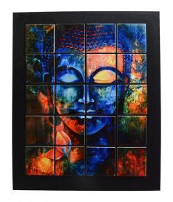 Buddha Tile Wall Hanging Frame - (ARCH-013)