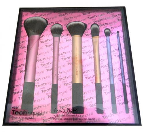 Real Technique Makeup Brush Set - 6 Brushes - (ATS-002)