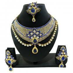 Designer Jewellery Set - Diamond Set - (ATS-008)