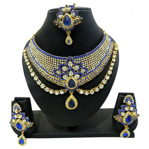 Designer Jewellery Set - Diamond Set - (ATS-008)