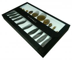 MAC Oval Brush Set - 10 Pieces - (ATS-063)