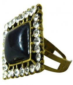High Fashion Jewelry Big Stone Rings - (ATS-037)