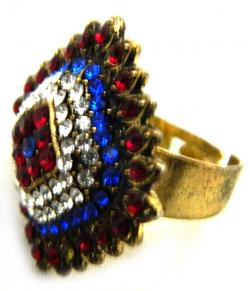 High Fashion Jewelry Big Stone Rings - (ATS-040)