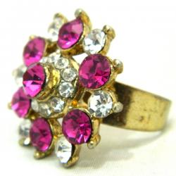 High Fashion Jewelry Big Stone Rings - (ATS-042)
