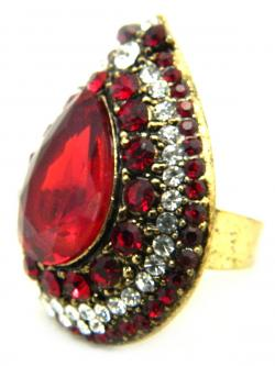 High Fashion Jewelry Big Stone Rings - (ATS-044)