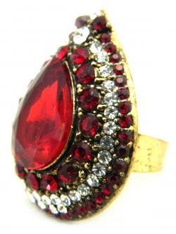 High Fashion Jewelry Big Stone Rings - (ATS-044)