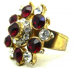 High Fashion Jewelry Big Stone Rings - (ATS-046)
