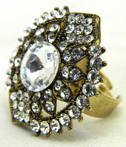 High Fashion Jewelry Big Stone Rings - (ATS-048)
