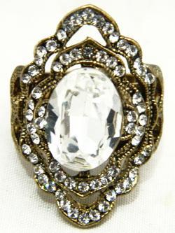 High Fashion Jewelry Big Stone Rings - (ATS-049)