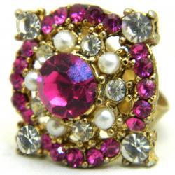 High Fashion Jewelry Big Stone Rings - (ATS-070)