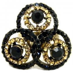 High Fashion Jewelry Big Stone Rings - (ATS-071)
