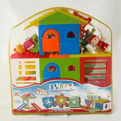 Baby Kids Educational Plastic Blocks - (NUNA-064)