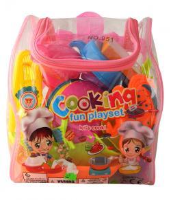 Kitchen Pretend Food Play & Cooking Set - (NUNA-066)