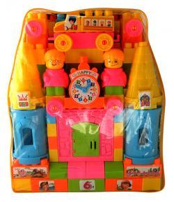 Eductional Plastic Toy Magic Castle Children Building Blocks - (NUNA-067)