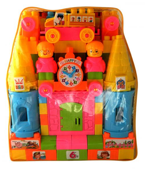 Eductional Plastic Toy Magic Castle Children Building Blocks - (NUNA-067)
