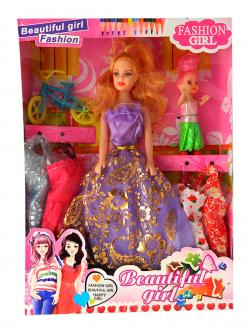 Beautiful Fashion Girl - Toy For Kids - (NUNA-076)