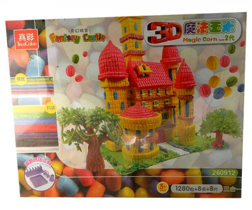 3D Magical Corn - Large Blocks - (NUNA-078)