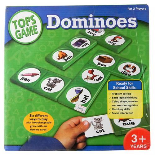 Learning Dominoes For Kids - (NUNA-085)