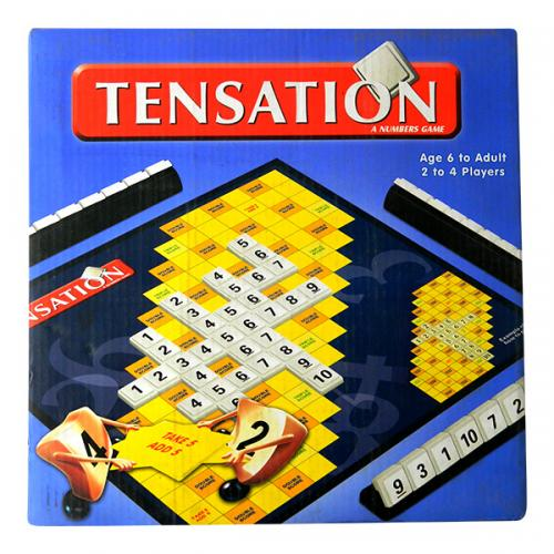 Tensation Number Games - 2 To 4 Players - (NUNA-086)