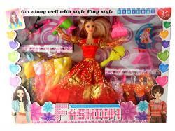 Fashion Doll Play Set - (NUNA-092)