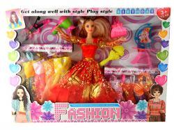 Fashion Doll Play Set - (NUNA-092)