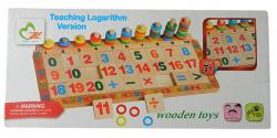 Teaching Logarithm Version - Wooden Toy - (NUNA-093)