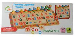 Teaching Logarithm Version - Wooden Toy - (NUNA-093)