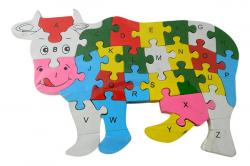 Cow Shape Learning Puzzle For Kids - (NUNA-097)