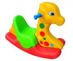 Yellow and Green Mix Rocking Chair for Kids - (NUNA-111)