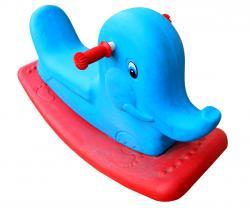 Blue Elephant Rocking Chair For Kids - (NUNA-112)