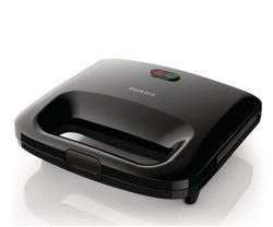 Philips Sandwich Maker HD2393/92 Black - (HD-2393/92)