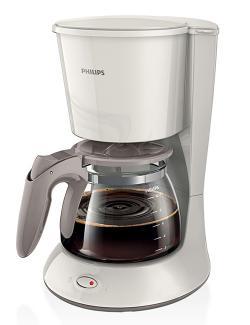 Philips HD7447/00 Coffee Maker With Glass Jug - (HD-7447W)