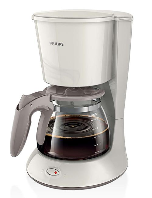 Philips HD7447/00 Coffee Maker With Glass Jug - (HD-7447W)