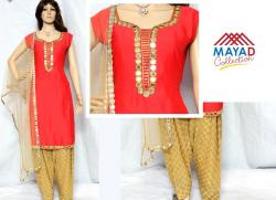 Glass Worked Kurta Set For Ladies - (MDC-035)