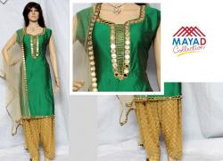 Glass Worked Kurta Set For Ladies - (MDC-036)