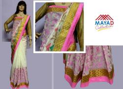 Rawsilk Banarasi Saree For Ladies - (MDC-090)