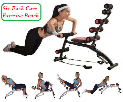 Six Pack Care Exercise Bench - (TM-006)