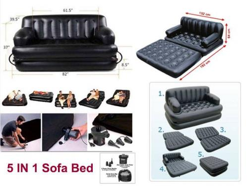 5 in 1 Magic Sofa Bed - (TM-003)