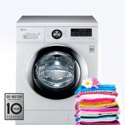 LG 6.5 Kg F1296WDL24 Fully Automatic Front Load Washing Machine - (F-1296WDL24)