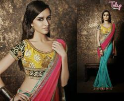 Tulip Collection Designer Saree - (TC-04)