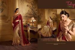 Tulip Collection Designer Saree - (TC-1801) - 20% OFF