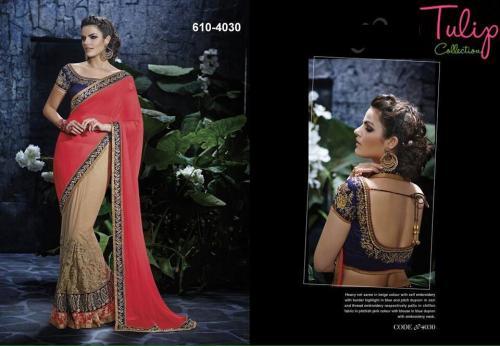 Tulip Collection Designer Saree - (TC-610-4030) - 20% OFF