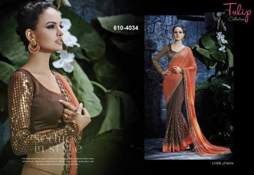 Tulip Collection Designer Saree - (TC-610-4034) - 20% OFF