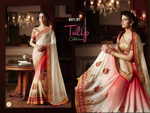 Tulip Collection Designer Saree - (TC-601-57) - 20% OFF