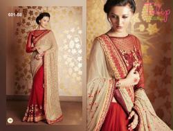 Tulip Collection Designer Saree - (TC-601-58)