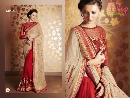 Tulip Collection Designer Saree - (TC-601-58)