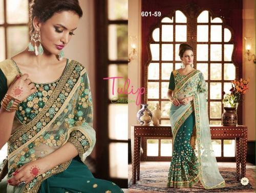 Tulip Collection Designer Saree - (TC-601-59) - 20% OFF