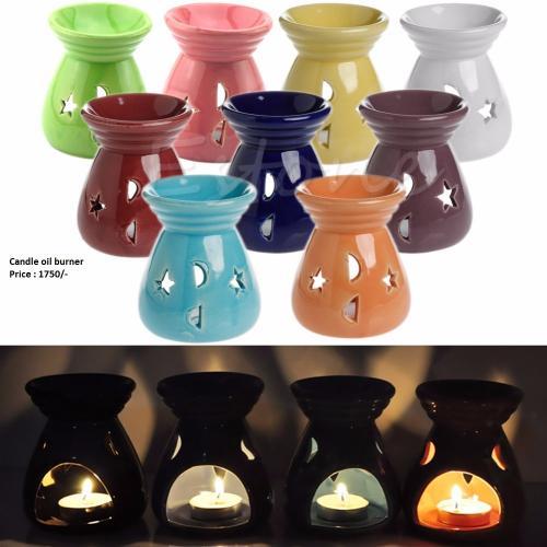 Ceramic Fragrance Oil Burner - (DK-006)