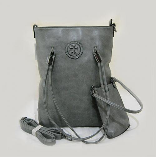 Grey Long Bag for Ladies - (LAC-037)